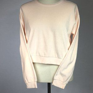 NWT Light Pink Knit Long Sleeve Top.